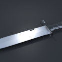 M9 Bayonet Knife Free 3d Model