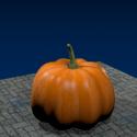 Realistic Pumpkin Free 3d Model