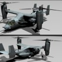 US Osprey Aircraft Free 3d Model