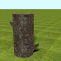 Tree Log Free 3d Model
