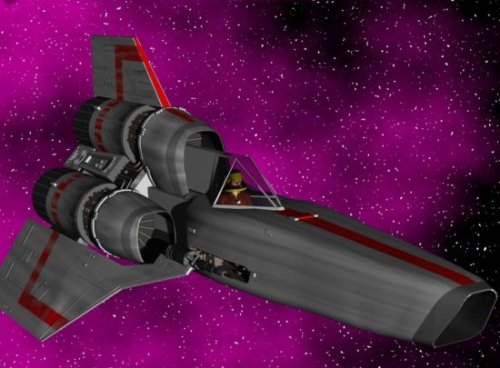 Battle Star Galactica Spaceship