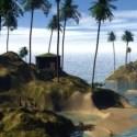 Tropical Island Scene 3d Model