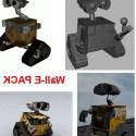 Wall-E Free 3d Model Character