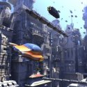 SCIFI Cars And City Buildings Scene