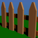 House Wooden Fence