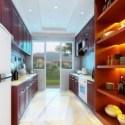 المطبخ الأوروبي الداخلية