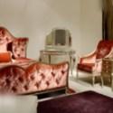 European Vintage Red Sofa 3d Max Model Free