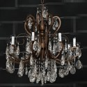 Metal Chain Crystal Chandelier 3d Max Model