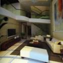 Modern Luxury Villa Living Room 3d Max Model Free