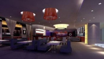 3dMax Model Interior Restaurant Scene (3ds,Max) Free