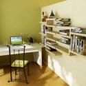 Modern Minimalist Study Space
