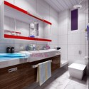 Modern Bright Bathroom Design