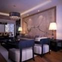 Warm Elegant Design Living Room