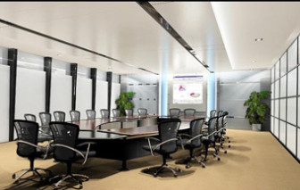 Modern Design Conference Room Interior 3d Max Model Free