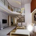 Simple Living Room Interior 3dsMax Scene