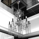 Stylish Crystal Curtain Crystal Lamps
