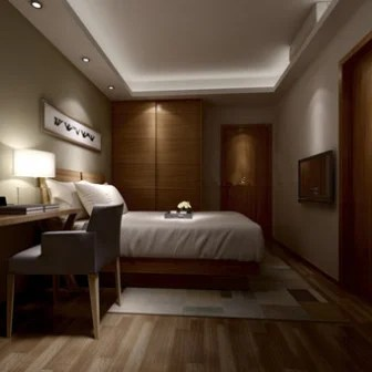 Bedroom Design Interior Scene 3d Model 3ds Max Open3dmodel 19294