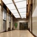 Company Corridor Interior Scene