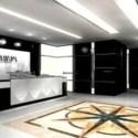 Company Reception Design Interior Scene