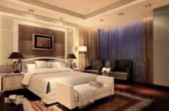 Modern Design Bedroom 3dsMax Model Scene 3dsMax Free