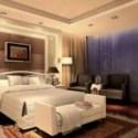 Modern Design Bedroom Interior Scene