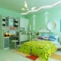 Bright Children Bedroom Interior Scene