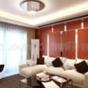 Cozy Living Room Interior Scene