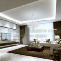 Luxury Living Room Interior Scene