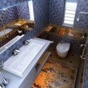 Luxury Bathroom Interior Scene 3d Max Model Free