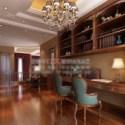 3d Max Model Wooden Study Room Scene