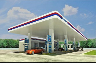 Oil Gas Station 3dsMax Model (3ds,Max) Free Download