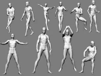 3D Character Human Body