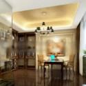 Study Room Design Interior Scene