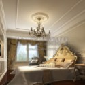Scene European Luxury Bedroom Interior