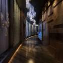 Interior Lounge Bar Corridor
