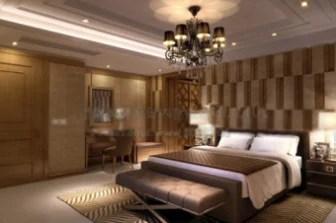 Interior Hotel Bed Room