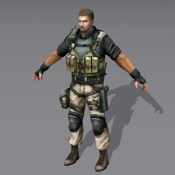 Us Military Special Forces Soldier