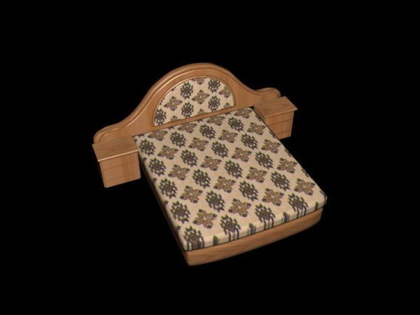 Platform Bed With Nightstands