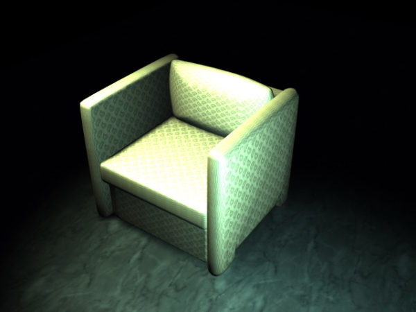 Admirable Modern Cube Chair Free 3Ds Max Model 3Ds Dxf Max Machost Co Dining Chair Design Ideas Machostcouk