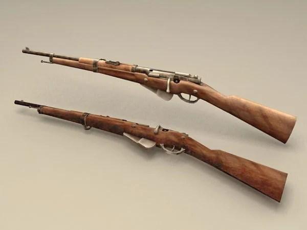 French Berthier Rifle