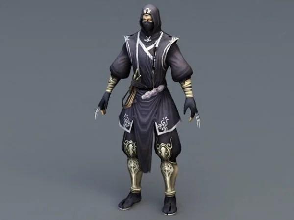 Male Ninja Assassin