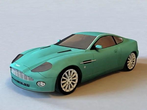 Sports Car Aston Martin Vanquish