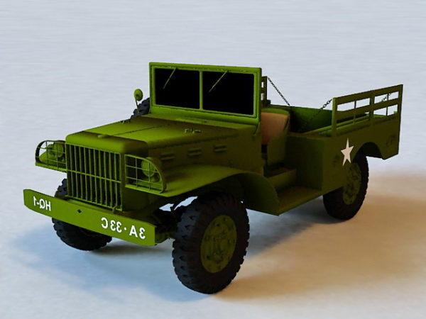 Dodge Wc-51 Military Jeep