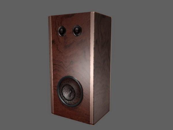 Vintage Bookshelf Audio Speaker