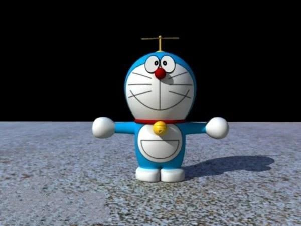 Robotic Cat Doraemon Rig