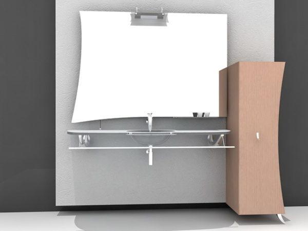 Wall Mount Bathroom Sink Vanity