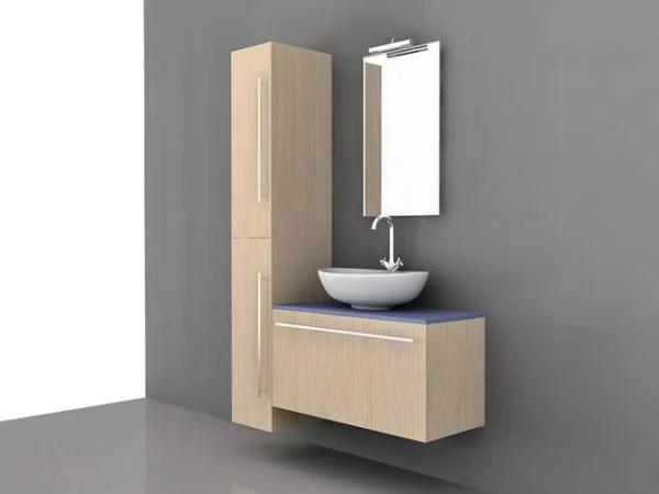 Armoires de rangement hautes de vanité de salle de bain ...