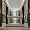 Real Estate Showroom Interior Scene
