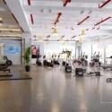 Sport Gym Center With Modern Design Interior Scene