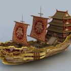 Ancient Chinese Merchant Vessel